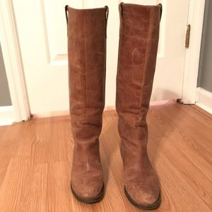 Gianni Bini Tall Tan Boots